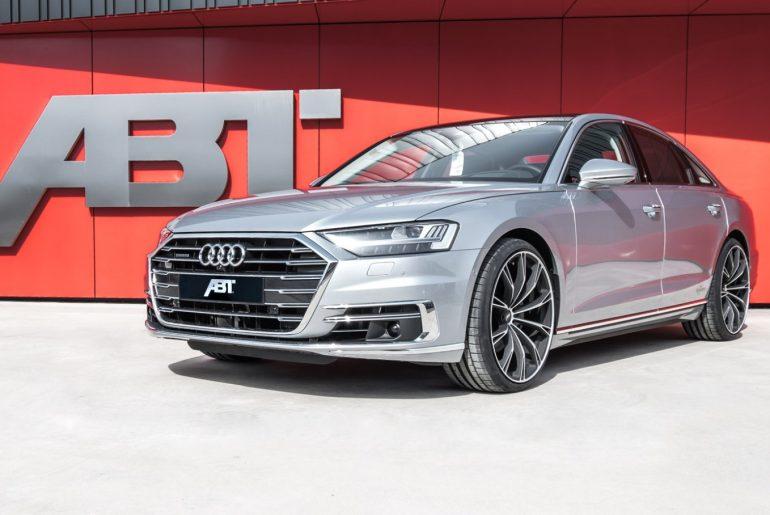 Novi Audi A8 by ABT SPORTSLINE – za višje standarde od doslej najvišjih