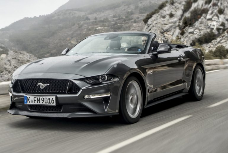 Ford Mustang 2018 z osveženo »štalo« v deželi lipicancev