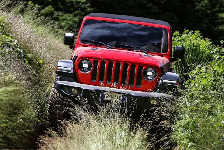 Jeep Wrangler s posebnim priznanjem na podelitvi »4×4 of the year«