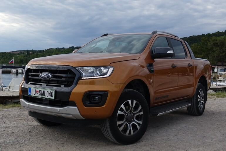 Ford Ranger Wildtrack – robusten pickup »za mišice in pamet«