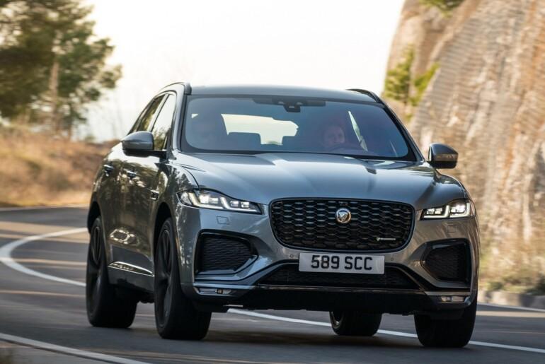 Novi Jaguar F-Pace: osvežen, povezan, elektrificiran
