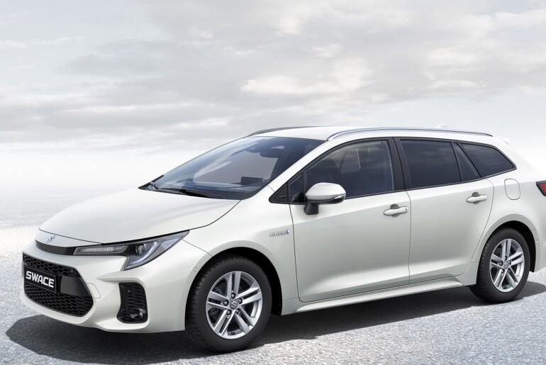 Suzuki v Evropi predstavlja novi hibridni karavan SWACE