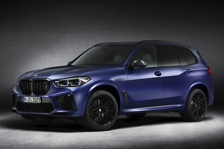 Omejena serija BMW X5 M Competition in BMW X6 M Competition