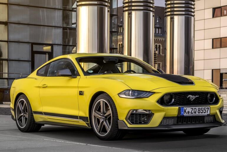 Visokozmogljivi Mustang MACH 1 v omejeni seriji premierno v Goodwoodu