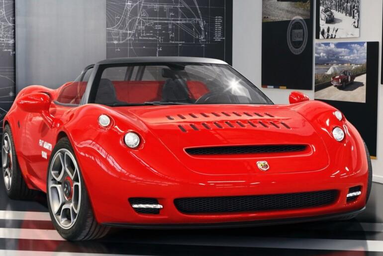 Abarth 1000 SP: legendarna »barchetta« v novi izdaji z motorjem Alfa Romeo 4C