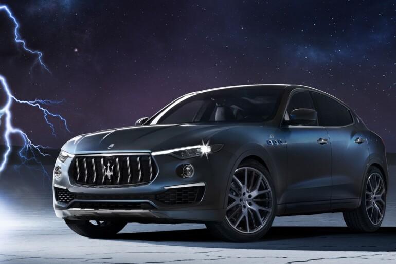 Maserati Levante Hybrid v znamenju iskre bodoče elektrifikacije