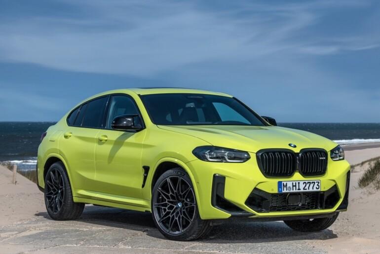 Nova BMW X3 M Competition in BMW X4 M Competition se napovedujeta avgusta
