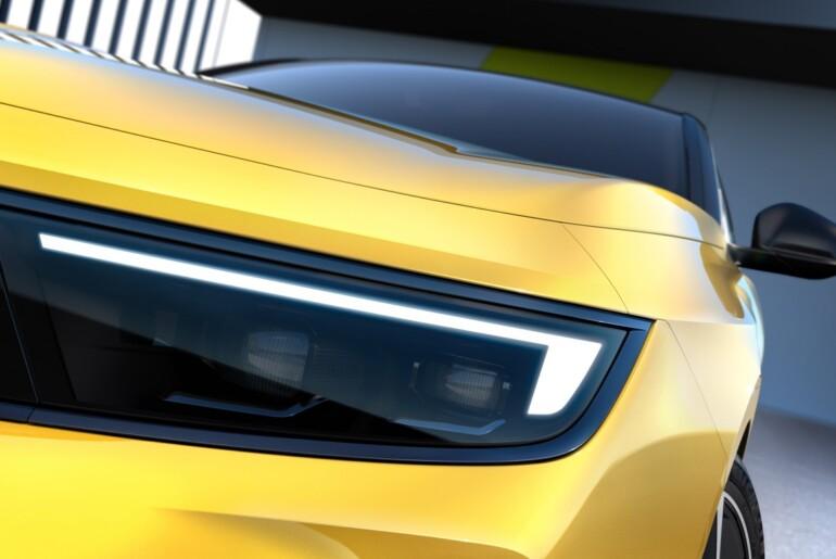 Opel začel razkrivati novo Astro z letnico 2021