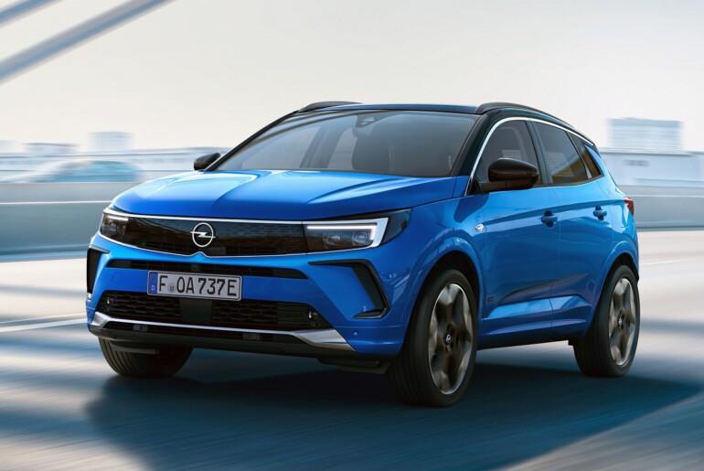 Opel je danes razkril novega Grandlanda