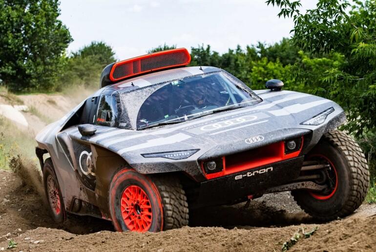 Audi RS Q e-tron se pripravlja na Dakar 2022