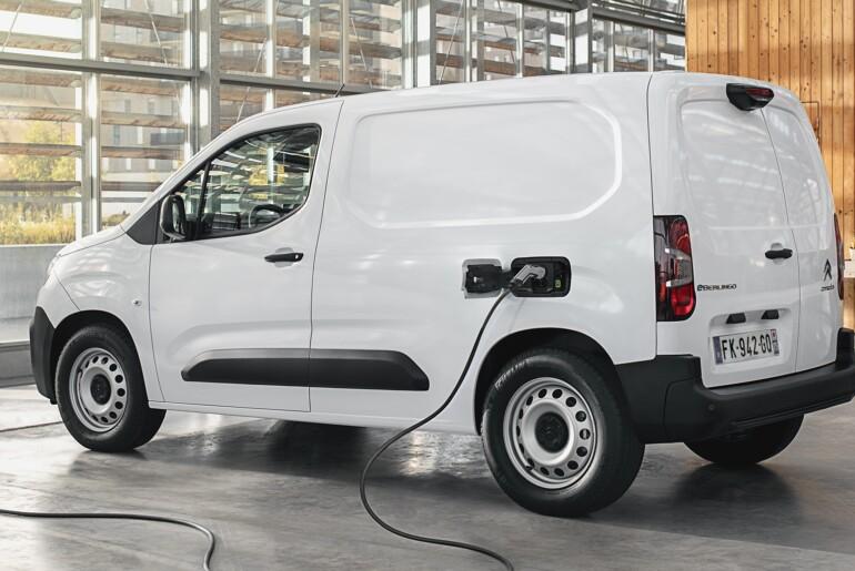 Citroen e-Berlingo Van: že nekaj dni v Sloveniji tudi električna različica malega furgona