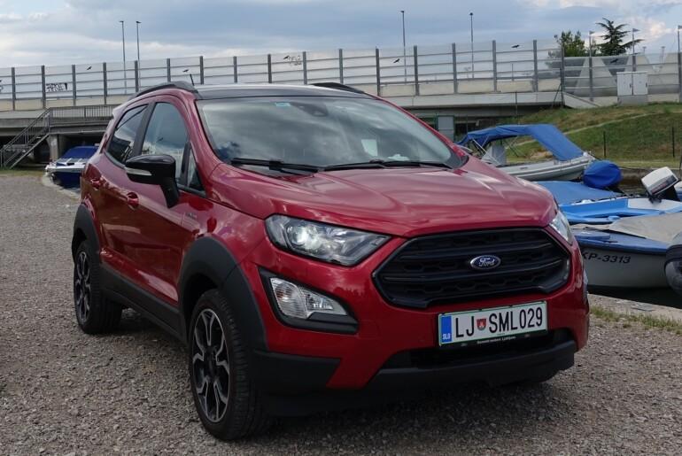 Ford Ecosport 1.0 EcoBoost 92 kW (125 KM) Active: spodbuda za aktivne