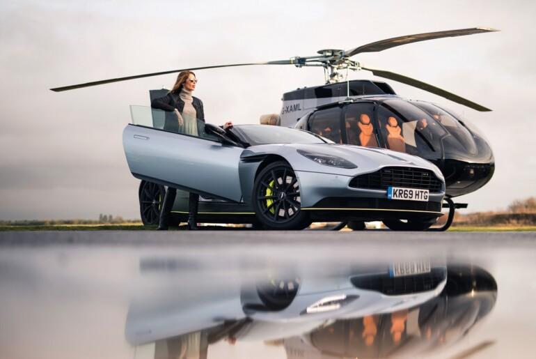 Airbus in Aston Martin v Courchevelu odkrila helikopter ACH130 Aston Martin Edition