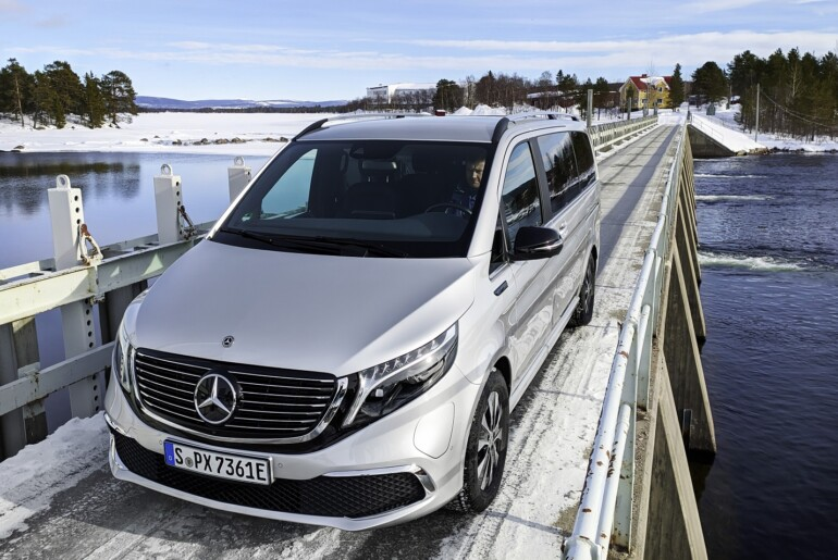 Mercedes-Benz EQV: Zadnji preizkusi v najzahtevnejših podnebnih razmerah