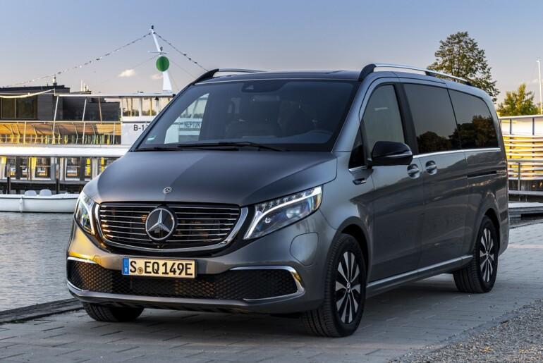 Mercedes-Benz EQV – premijski enoprostorec s povsem električnim pogonom.