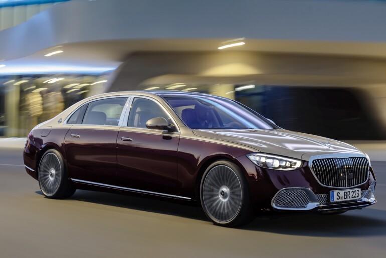 Prvi pogled v notranjost novega Mercedesa-Maybach razred S 2021