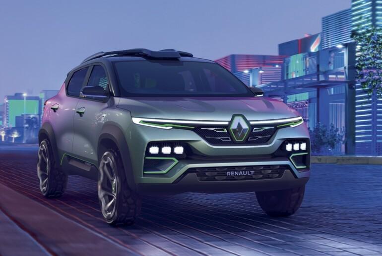 Renault KIGER Show-Car: prototip novega kompaktnega SUV-ja za Indijo