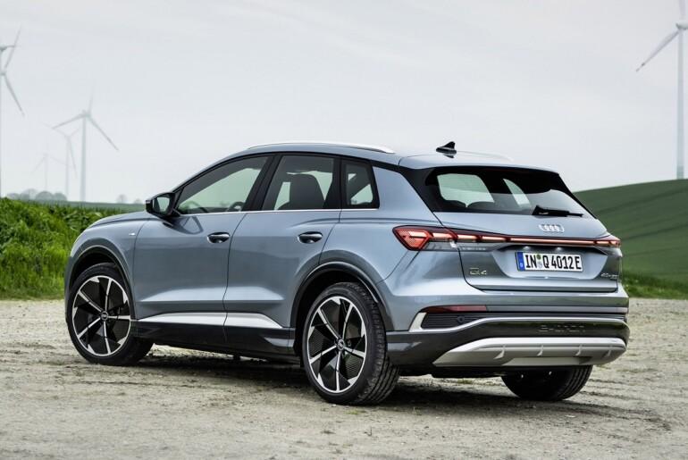 Audi Q4 e-tron in Q4 Sportback e-tron: v predprodaji prva kompaktna električna SUV-ja znamke